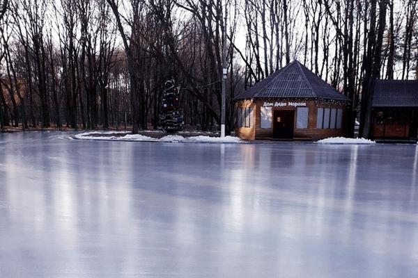 Открытие катка в парке Автозаводский